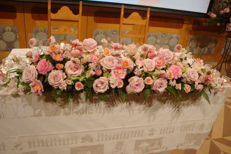 会場装花(4)